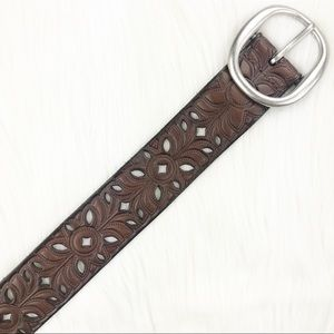 Accessories - Cut Out Patterned Belt